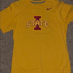 Three Iowa State University men's T-shirts.